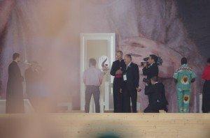 Accueil du Pape à Cracovie
